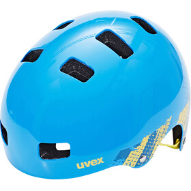 UVEX Kid 3 Bike Helmet Children yellow/blue
